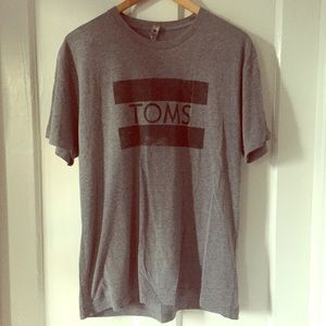 TOMs Super Soft Logo T